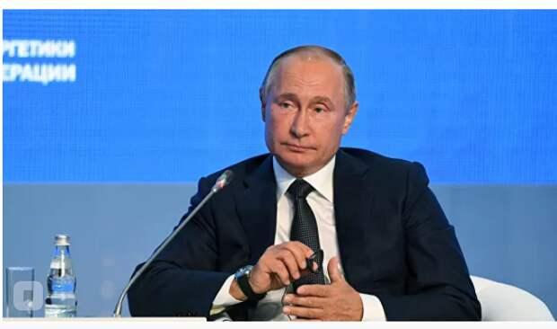 """Трамп, атаки дронов и газ: Путин выступил на """"Энергетической неделе"""""""