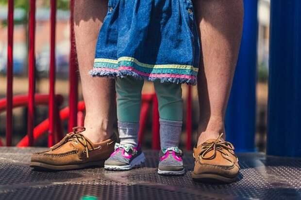 Люди, Отец, Человек, Детка, Девочка
