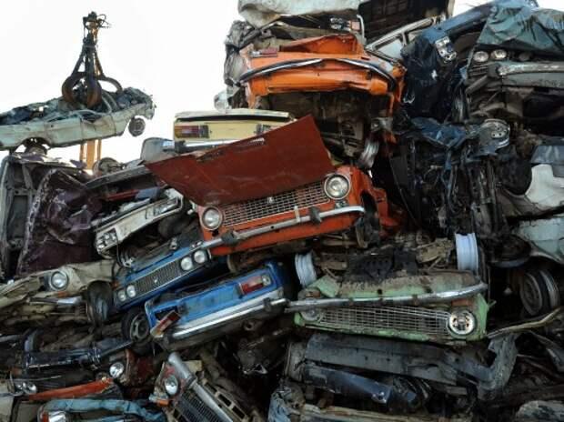 В России могут на год отменить утилизационный сбор