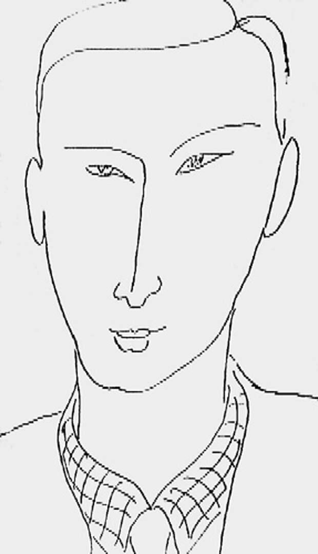 А. Матисс. Портрет Сергея Юткевича