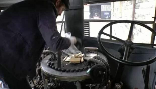 Тяжелый английский стимпанк: паровой грузовик Sentinel (16 фото + 1 видео)