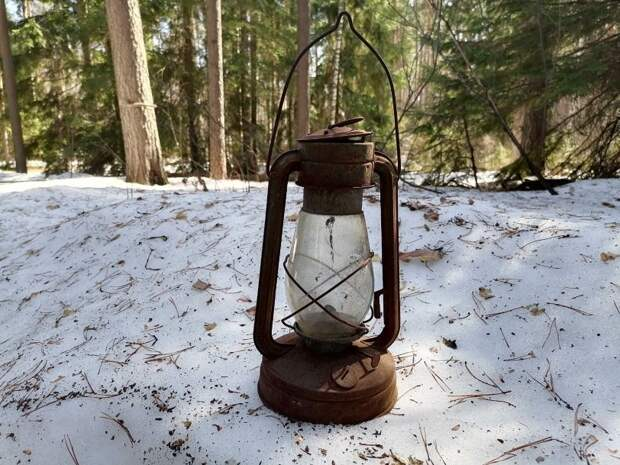 Нашел керосиновую лампу в заброшенной деревне – Теперь пытаюсь её восстановить