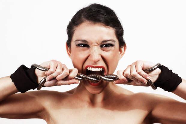 Вспышки гнева —средство для  снятия стресса