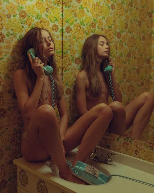 Чувственные снимки девушек Клинта Роберта