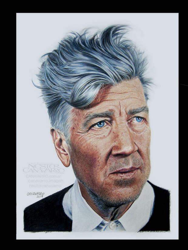 Гиперреалистичные цветные портреты карандашами