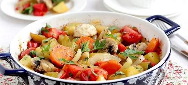 овощи запеченные в рукаве в духовке