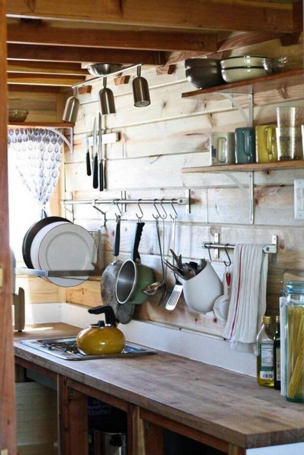 Обустраиваем дачную кухню: идеи, примеры и советы, фото № 7