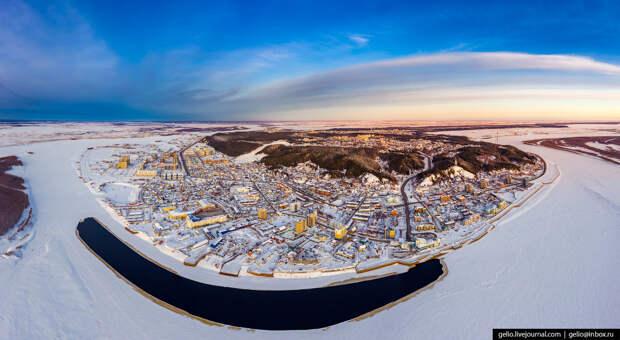 Ханты-Мансийск с высоты — город пирамид и мамонтов