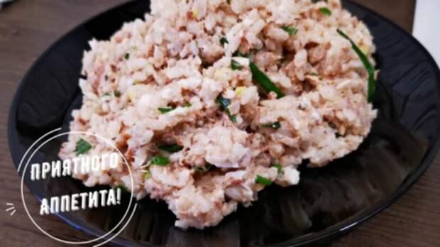 Рецепт популярного салата из 90-х: сытно и вкусно