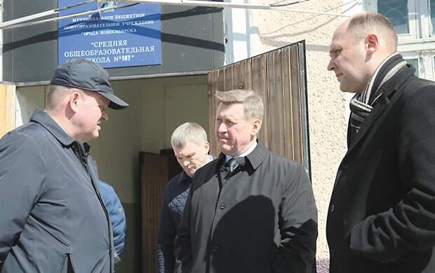 Старая школа в Октябрьском районе обретёт новый облик