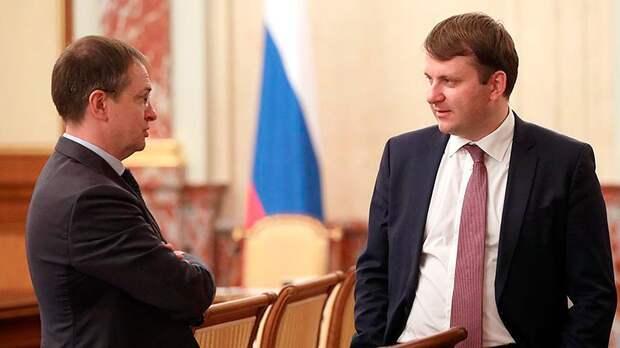 Мединский и Орешкин назначены помощниками Путина