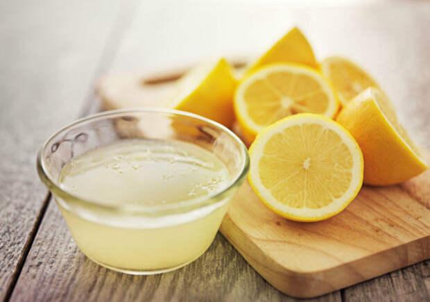 Лимонный сок вместо соли.