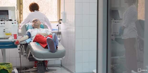 В донорском отделении в Новом Зыковском проезде проведут онлайн-встречу с донором костного мозга