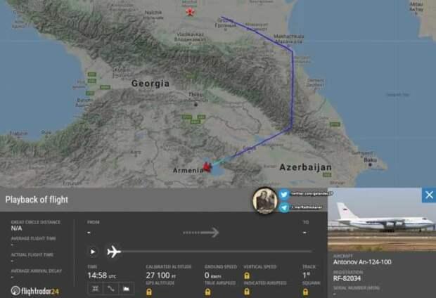 Россия начала перебрасывать в Армению технику «не миротворческого» характера