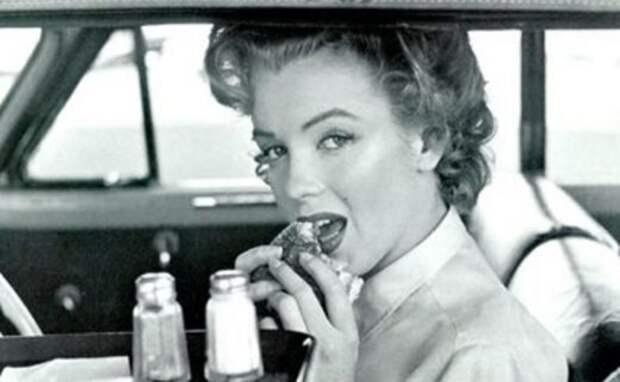 Завтрак красавицы - с чего начинали свой день Мэрилин Монро, Софи Лорен и Брижит Бардо