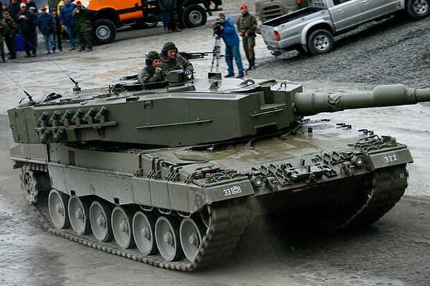 """ОБТ Германии """"Леопард-2"""" Что же это такое?"""