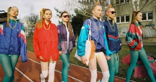 """Вы ведь тоже носили это? Модные 80-е. Мохеровые шарфы, мыльницы и прочая """"ангора"""""""