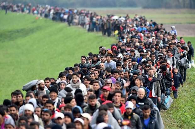 Миграционный кризис обострил отношения в странах Евросоюза