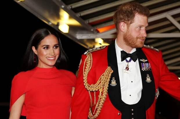 Меган Маркл и принц Гарри подписали контракт с Netflix