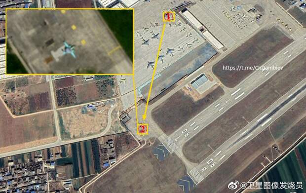 Первый опытный образец китайского палубного самолета ДРЛО и У совершил испытательный полет
