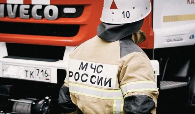В Сорочинске  ночью сгорел легковой автомобиль