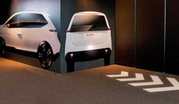 Mitsubishi научит машины показывать маневры до их совершения