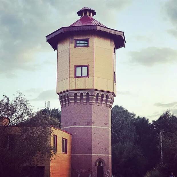 Дом в водонапорной башне Копипаста, Башня, Стройка, Интересное, Дом, Водонапорная башня, Длиннопост, Томск