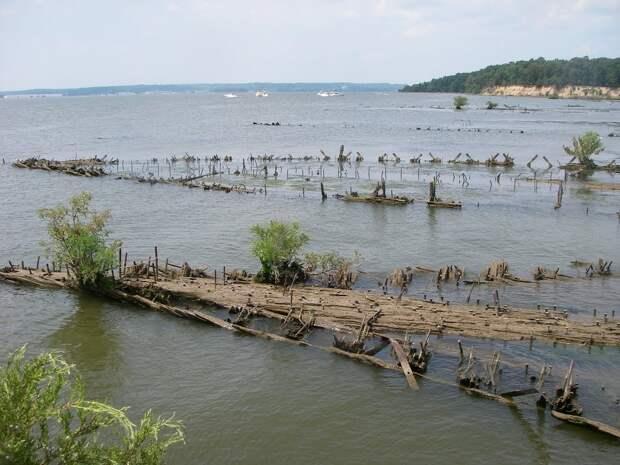 Призрачный флот на реке Потомак
