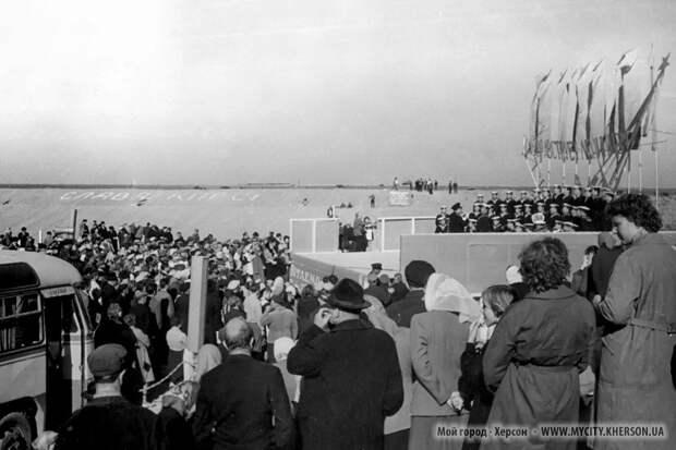 Кравчуку о строительстве Северо-Крымского канала силами СССР