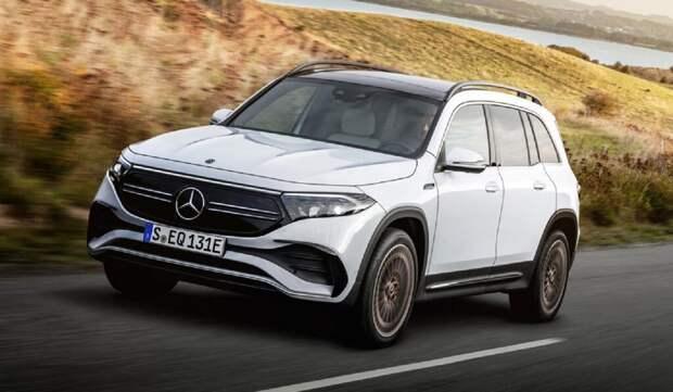 Mercedes-Benz представил новый електрокроссовер EQB – фото новинки