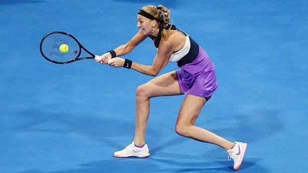 Квитова выбила Кербер, а Жабер выиграла у Стивенс во 2-м круге турнира в Мадриде