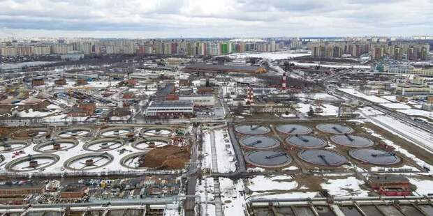 Собянин: Завершен первый этап комплексной реконструкции Люберецких очистных сооружений