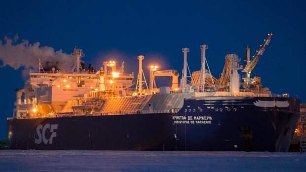 Лед подтаял— СПГ поплыл вКитай раньше срока