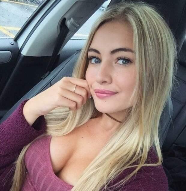 Красивые и милые девушки-блондинки - Zefirka