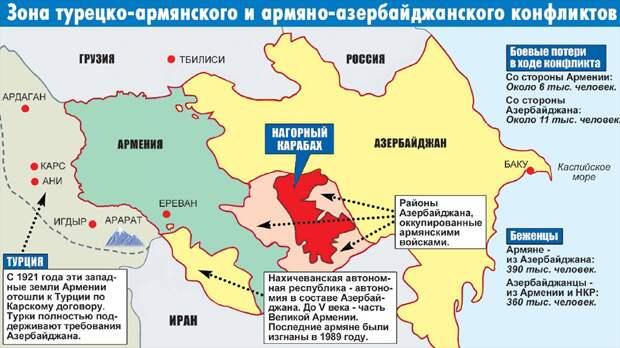 В Карабахе объявлено перемирие: Итог 10-часовых переговоров в Москве