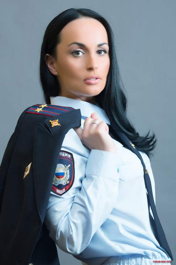 Ирина Волк -настоящий полковник с внешностью супер-модели