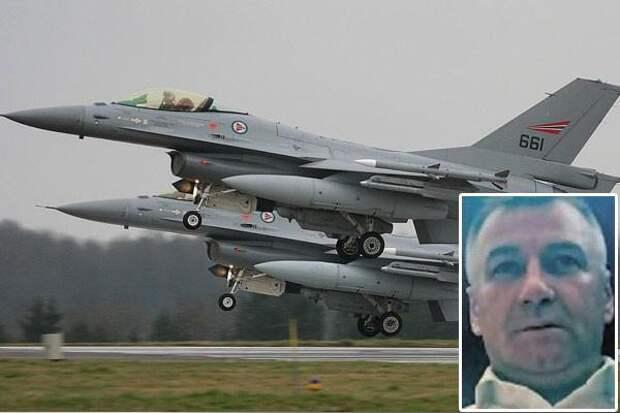 Как НАТОвскому летчику за Сербию морду полировали.