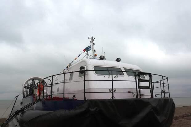 Морские границы севера Крыма будет охранять новый сторожевой катер ФСБ