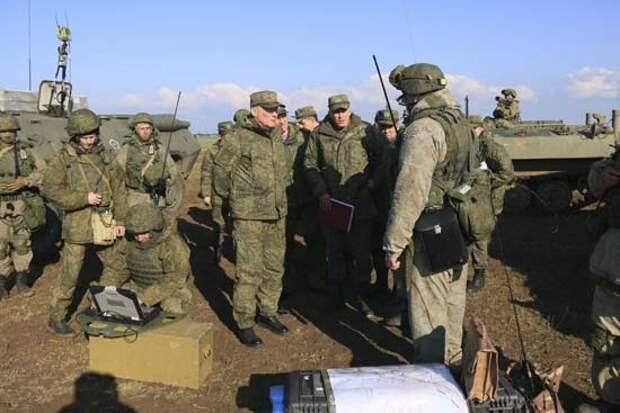 Командующий войсками ЮВО оценил действия тактической группы армейского корпуса ЧФ в ходе учения в Крыму