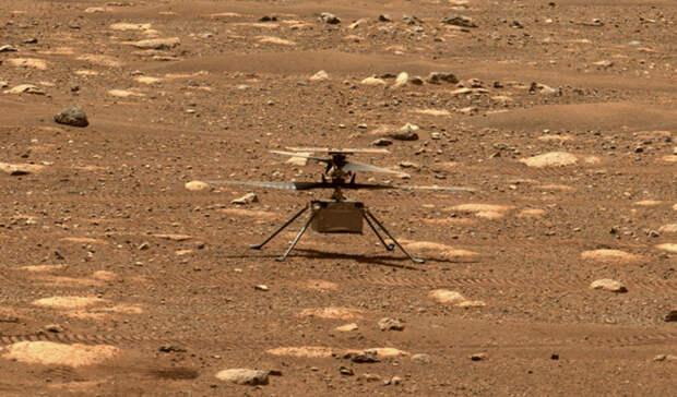 Над поверхностью Марса поднялся первый вертолет