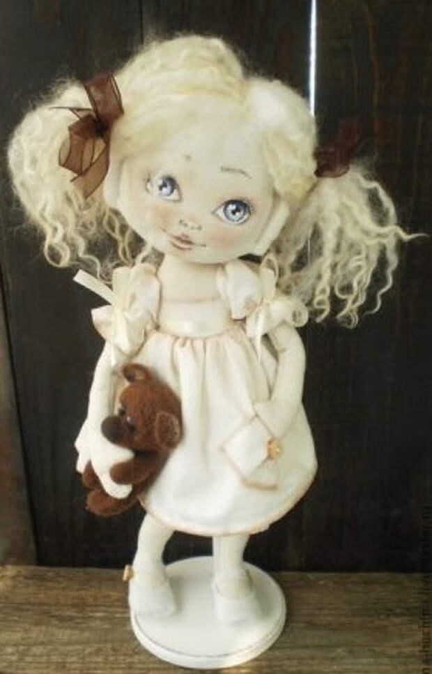 Выкройки текстильных кукол от Ирины Хочиной