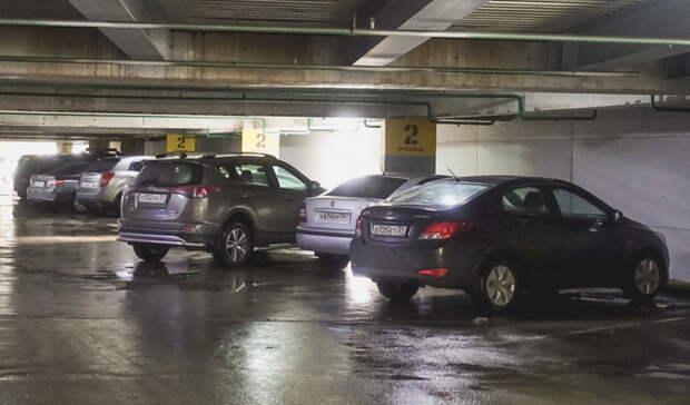 Тюменские власти просят водителей неоставлять авто навыезде спарковки