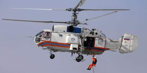 Сотрудники Московского авиацентра спасли за год 57 человек