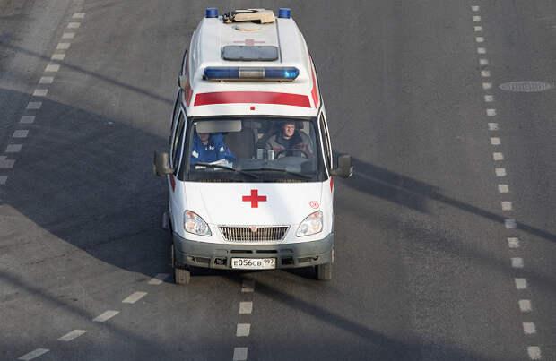 Автобус врезался вздание кинотеатра вподмосковном Электростале