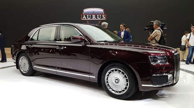 Мировая премьера Aurus Senat и Aurus Senat Limousine состоялась на ММАС