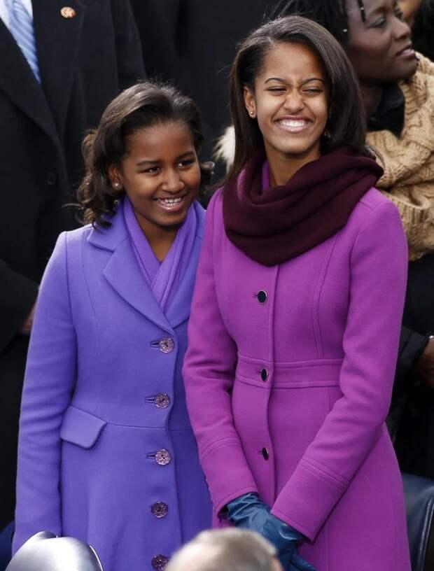 Верна себе: как Саша Обама осталась при своем мнении, несмотря навысокий статус дочери президента