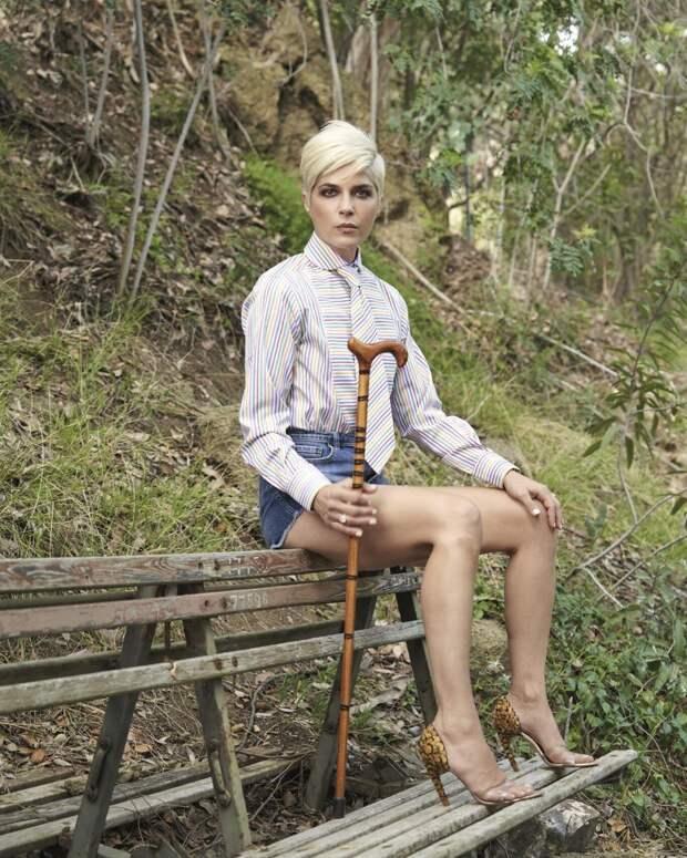 Сельма Блэр представила фильм о рассеянном склерозе