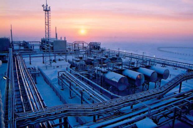 Добыча газа в России очень заметно выросла