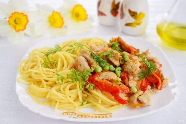 Спагетти «Примавера»
