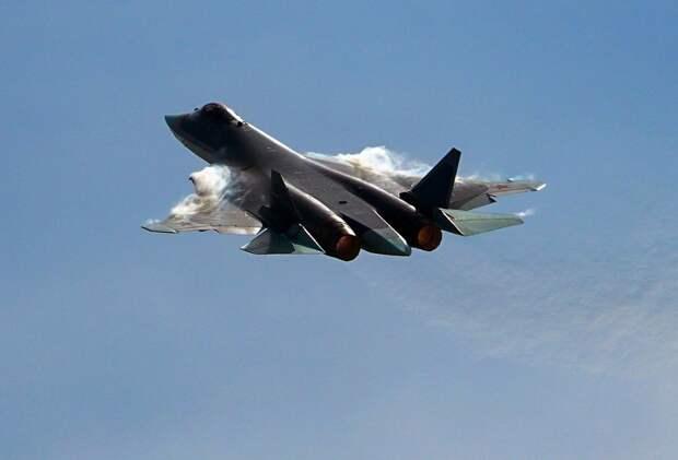 Avia.pro: израильские ПВО не смогли засечь российский Су-57 рядом с Сирией
